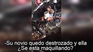 El Horrible Video de la Mujer que Se Maquilló frente al Cuerpo sin vida de su Novio