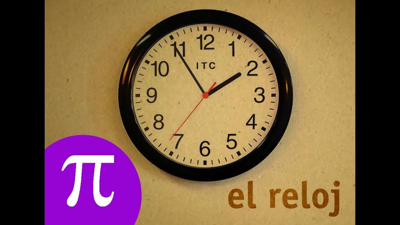 La eduteca la medida del tiempo el reloj youtube - Hacer reloj de pared con fotos ...