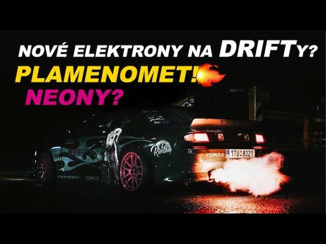 Nová kola na drifty | Plamenomet z výfuku! | Neony?!? #NissanS14