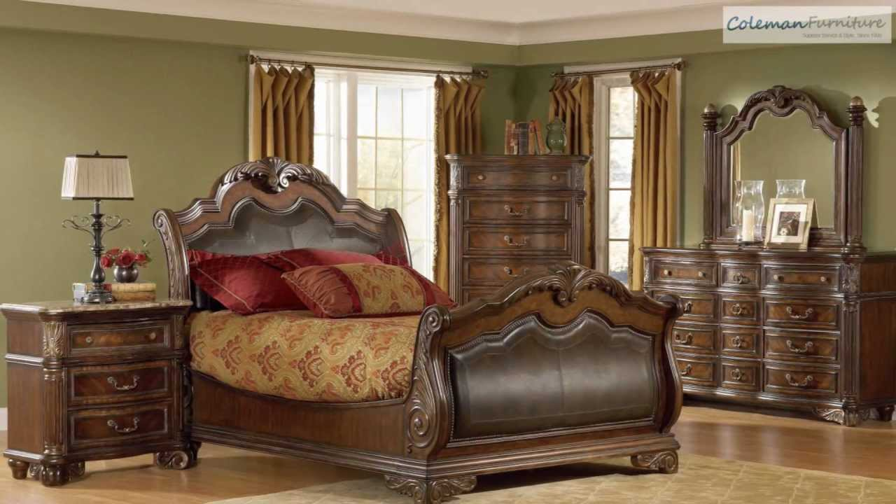 regal sleigh bedroom collection from art furniture youtube