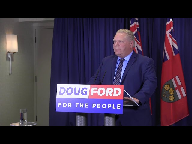 Ontario's Progressive Conservative leader is responding to an auditor-general report which found that the Liberal government understated the deficit by billions. Doug Ford is promising an inquiry and full audit if elected in June. (The Canadian Press)