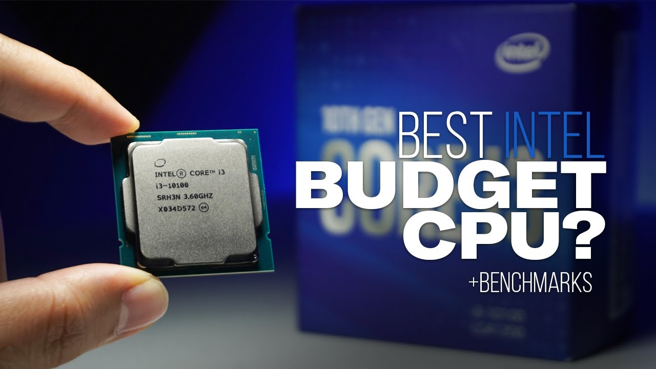 Best Budget CPU? - Intel Core i3 10100 Review and Benchmarks - YouTube