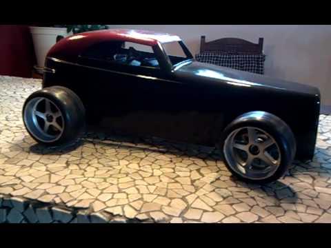 video 2 rc modell hot rod baja marder carbon fighter 1 6. Black Bedroom Furniture Sets. Home Design Ideas