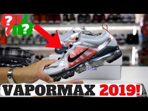new style f76ed 604ad Nike Air VaporMax 2019 Unboxed! First Impressions + On Feet ...