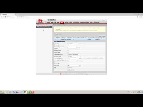 HUAWEI HG8245H настройка Wi-Wi