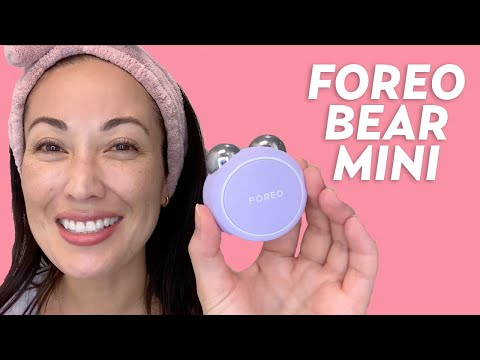 microcurrent-device-tutorial:-foreo-bear-mini-review-|-#skincare