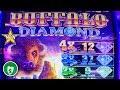 ⭐️ New - Buffalo Diamond slot machine, 2 Bonuses