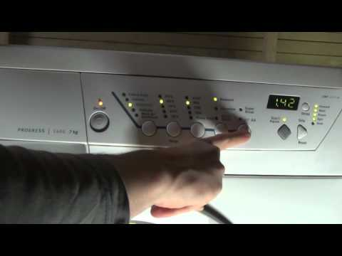 Zanussi Progress Jet System ZWF1437 Washing Machine : All programs and options