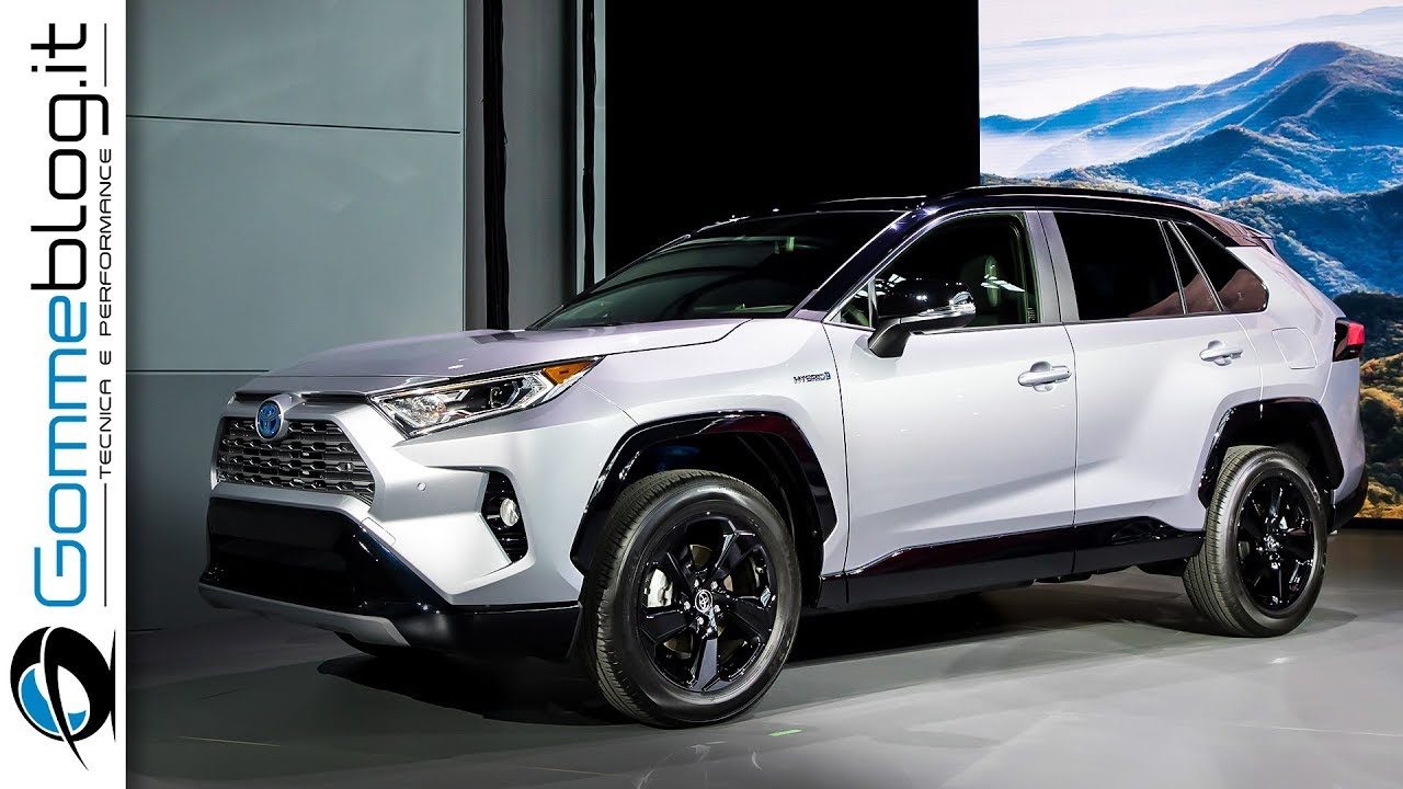 Toyota Rav4 2019 Xse Hybrid Adventure Limited First Look Suv Comparison
