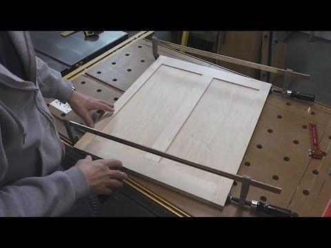 James Krenov Inspired Case - Making the Frame and Panel Back
