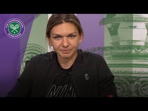 Wimbledon 2018: Simona Halep - 'The pressure is off'