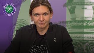 Wimbledon 2018: Simona Halep - 'The pressure is off'