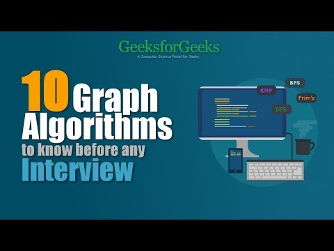 Top 10 Graph Algorithms you must know before Programming Interview