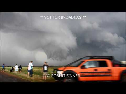 5 24 2016 Minneola Dodge city KS Multiple Tornado timelapse HD
