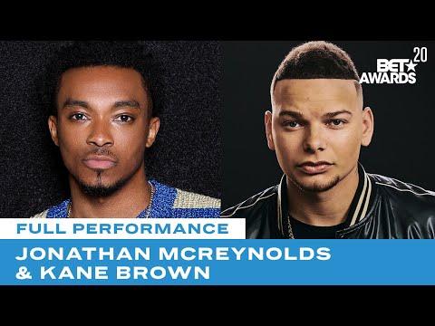 "Jonathan-McReynolds-Kane-Brown-Perform-""People""-""Worldwide-Beautiful""-BET-Awards-20"