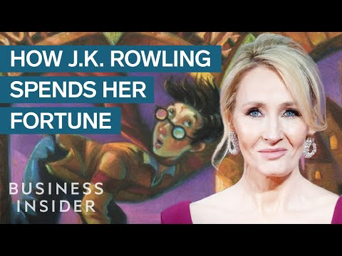 How J.K. Rowling Makes And Spends Her Fortune