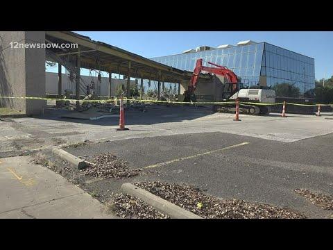 Lamar State College Orange starts demolition ahead of new academic center, plaza expansion