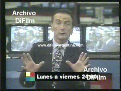DiFilm - Promo noticiero America Noticias 24hs (1996)
