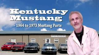 Welcome, Kentucky Mustang, to Operation Mustang