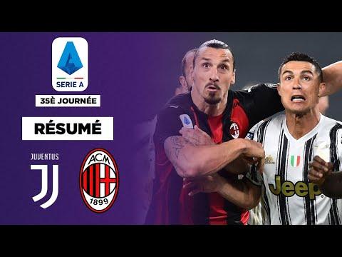 Résumé : 3-0, Milan frappe un très grand coup contre la Juventus !