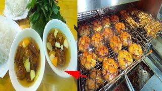 Độc chiêu nướng thịt không khói làm Bún chả Hà Nội ngon mê ly ở Sài Gòn