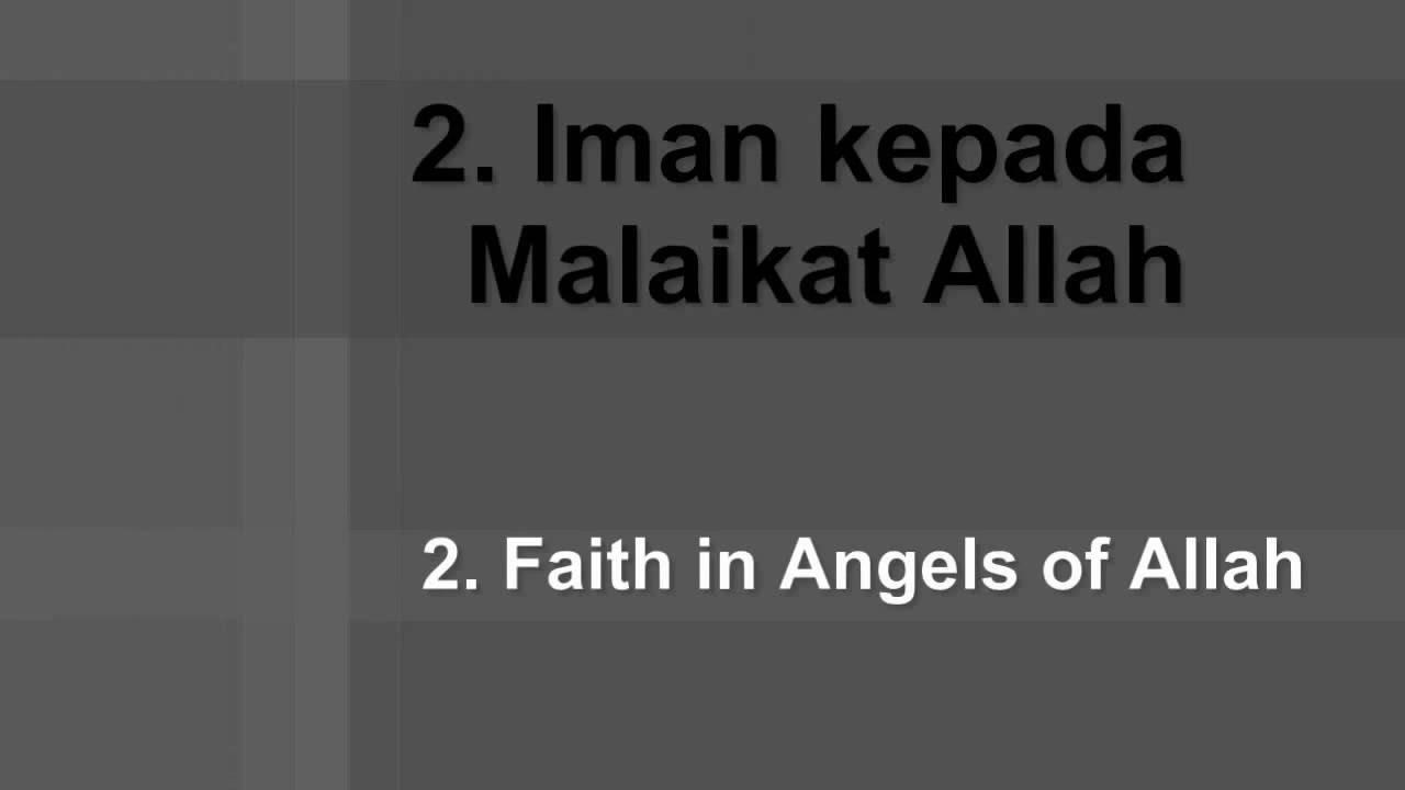 6 Pillars Of Islam Iman Muslim Greeting Youtube