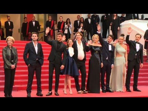 AFP news agency: Cannes red carpet for Justine Triet's