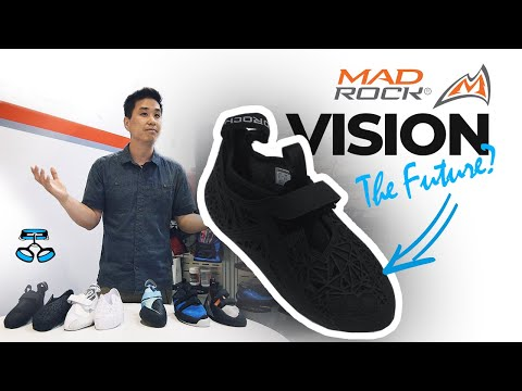 Mad Rock Vision: The Future Of Climbing Shoes?