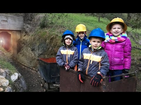 Trains, GOLD MINES and Snow || Mommy Monday