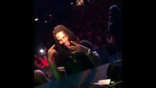 Waka Flocka Flame Brings Rawcus Out On Stage During His Show