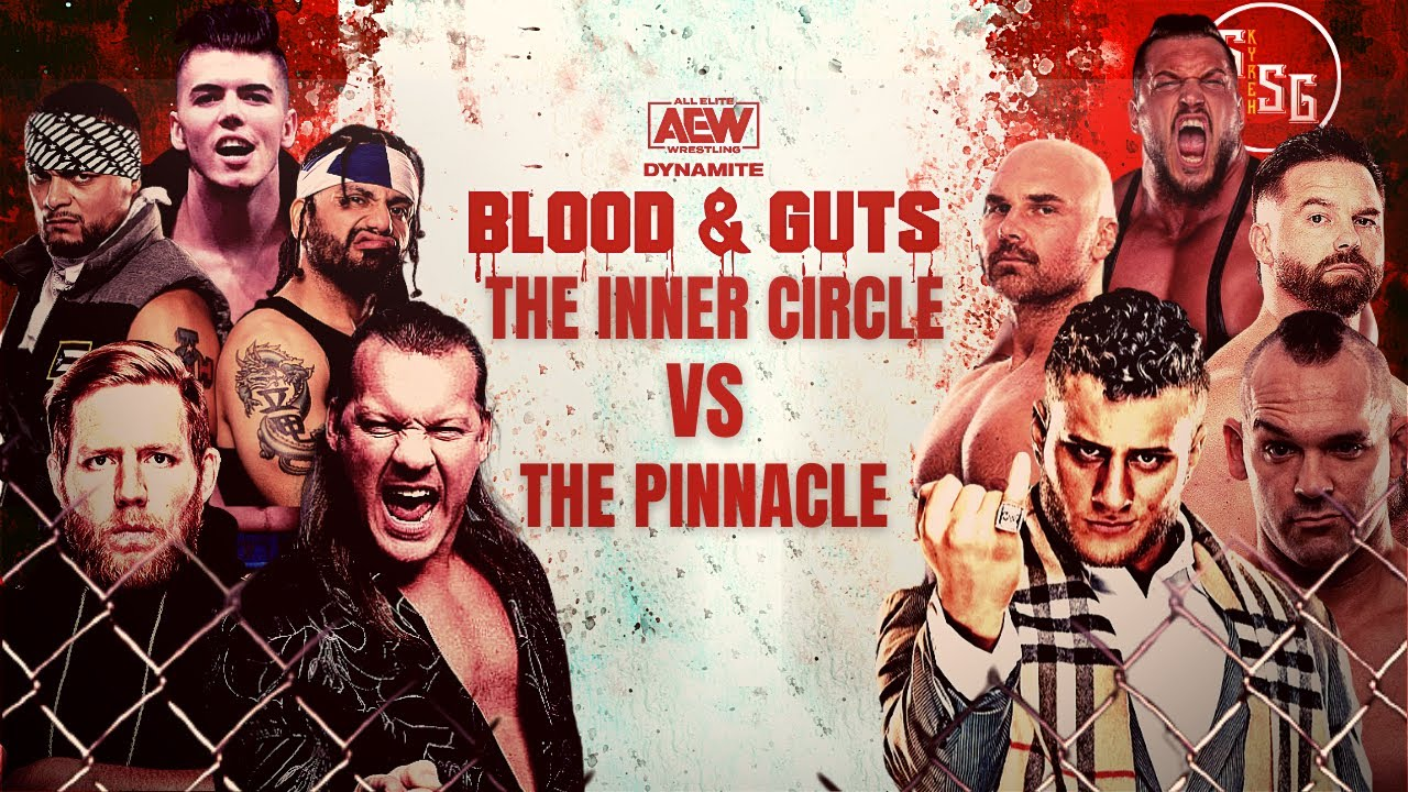 AEW Blood And Guts To Be A One Match Show