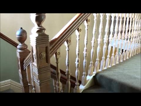 Stair Spindle Repair