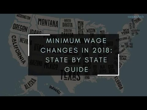 2018 Minimum Wage Changes in The United States: Full Guide for Employers and Human Resource managers