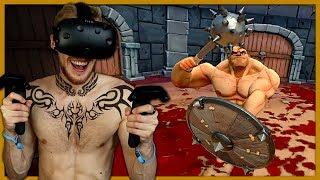 Gladiaattori Simulaattori virtuaalisessa todellisuudessa!   GORN