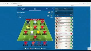 Fifa World Cup McDonalds Fantasy Football  Round 2