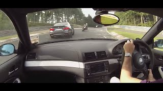 Bmw e46 m3 vs m4 nurburgring nordschleife