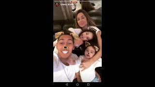 Roberto firmino with family awesome moment #Liverpool