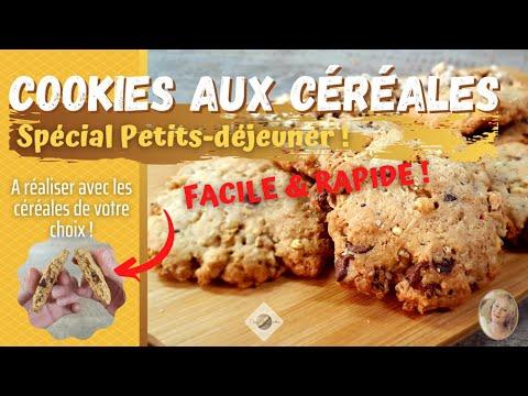 🍪cookies-aux-cÉrÉales---ultra-facile-&-rapide-(recette-personnalisable)