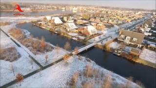 Sneeuwlandschap 2016 - Ommen - Dedemsvaart - Balkbrug (Drone-beelden)