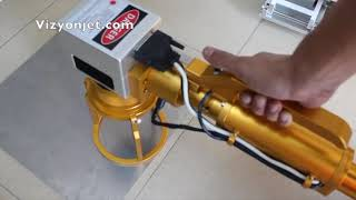 El Tipi Lazer Markalama Makinası / Mobil Lazer Markalama Cihazı