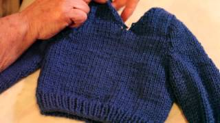 Knitting Instructions for V Neck Sweaters : Knitting Sweaters