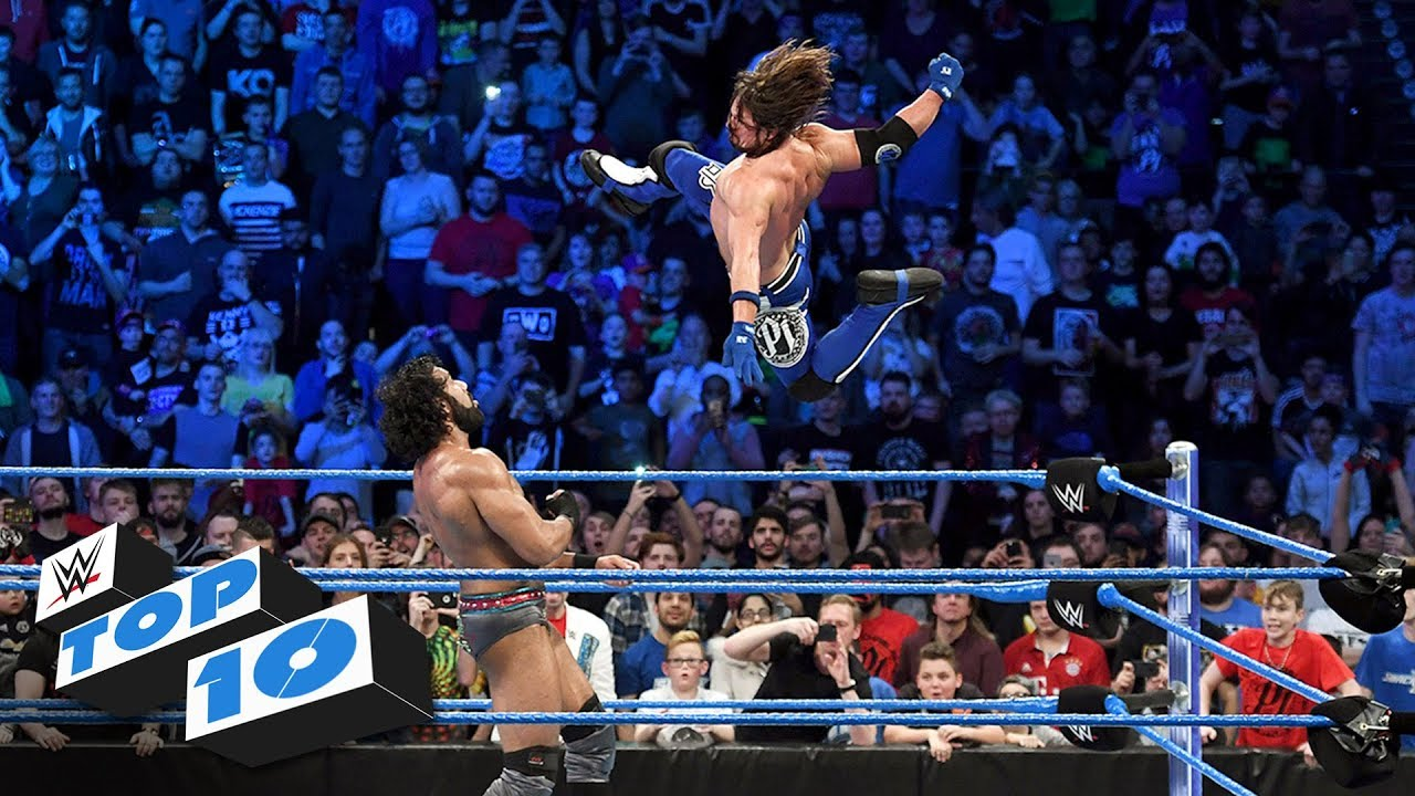 Top 10 SmackDown LIVE moments: WWE Top 10, November 7, 2017