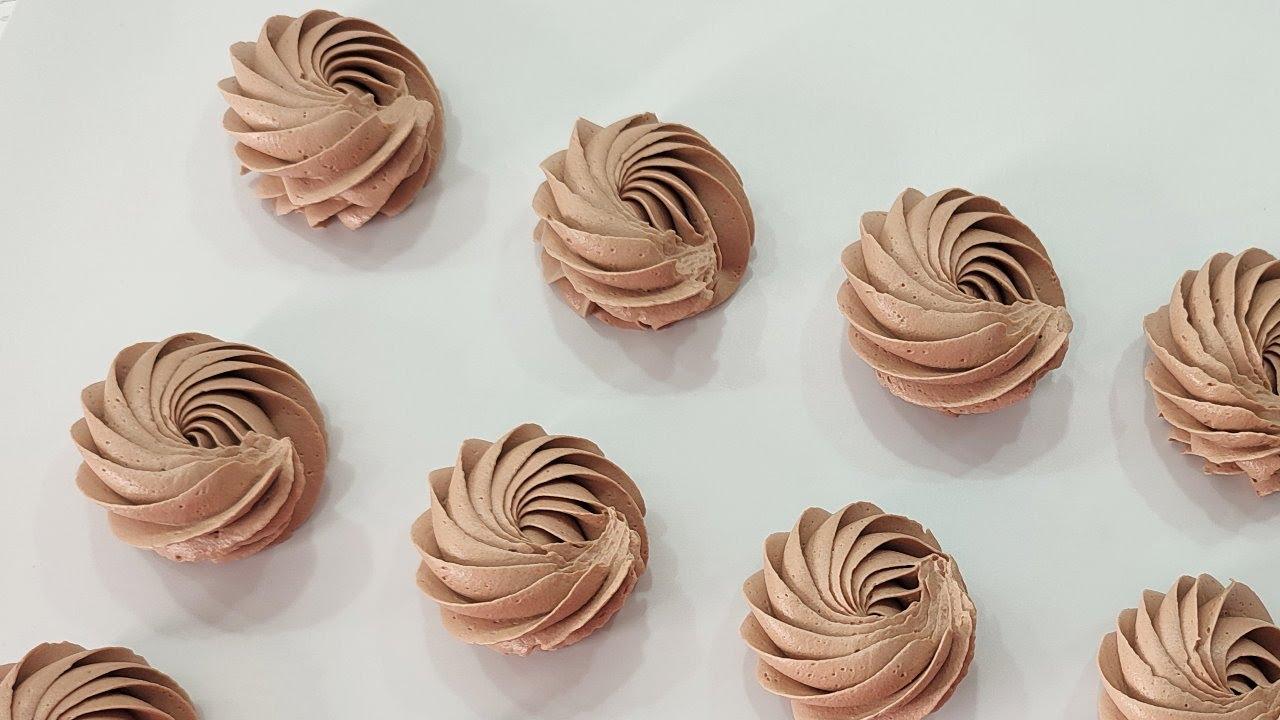 самый быстрый устойчивый ШОКОЛАДНЫЙ крем всего из 3-х ингредиентов! Шоколадный крем с маскарпоне!