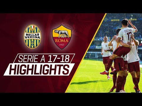 CENGIZ UNDER! Serie A 2017-18 Highlights: Verona 0 - 1 Roma