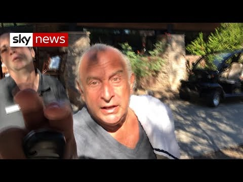 Sky News tracks down Sir Philip Green after harassment claims
