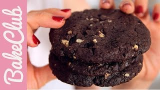 Double Chocolate Cookies | Bakemyday