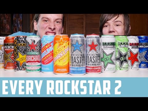 Bros Review Every Rockstar Drink | P2