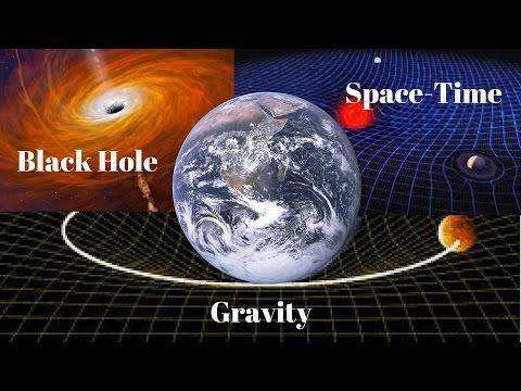 गुरुत्वाकर्षण काम कैसे  करता है? || ब्लैक होल और अंतरिक्ष समय क्या है? || How gravity works Hindi ||