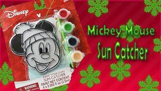 Mickey Mouse Suncatcher