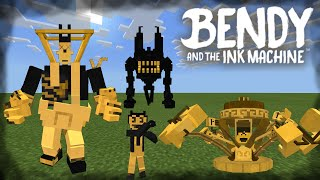 Bendy And The Ink Machine Addon in Minecraft PE